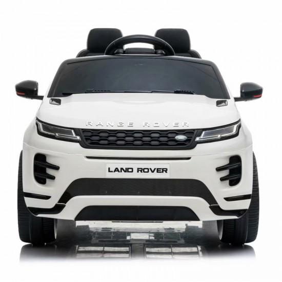 Ηλεκτροκίνητο Παιδικό Αυτοκίνητο Licensed Land Rover Evoque 12V σε Λευκό