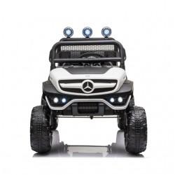 Ηλεκτροκίνητο Παιδικό Αυτοκίνητο License Mercedes Benz Unimog 12V Σε Λευκο