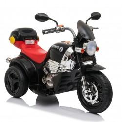 Ηλεκτροκίνητη γουρούνα-μηχανή με μπαγκαζιερα σε μαυρη