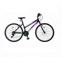 Ποδήλατο mountain VENUS 26'' ίντσες Μαυρο-Μωβ με 21 ταχύτητες·Τύπος:Unisex