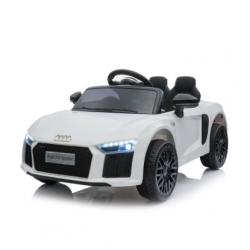 Ηλεκτροκίνητο Παιδικό Αυτοκίνητο Licensed Audi R8 Spyder 12V Λευκό