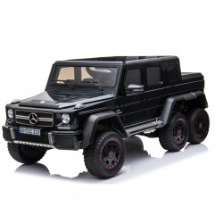 Ηλεκτροκίνητο παιδικό αυτοκίνητο original licensed mercedes-benz G63 6X6σε μαύρο 12V