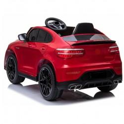 OEM Ηλεκτροκίνητο παιδικό αυτοκίνητο τύπου MERCEDES BENZ GLC σε κόκκινο 12v