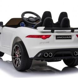 Ηλεκτροκίνητο Παιδικό Αυτοκίνητο Licensed Jaguar F-TYPE SVR 12V Λευκο