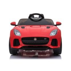Ηλεκτροκίνητο Παιδικό Αυτοκίνητο Licensed Jaguar F-TYPE SVR 12V Κόκκινο