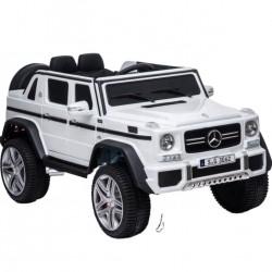 Ηλεκτροκίνητο Παιδικό Αυτοκίνητο Licensed Mercedes Benz Maybach G650 12V σε Λευκο Χρώμα