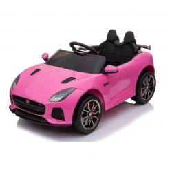 Ηλεκτροκίνητο Παιδικό Αυτοκίνητο Licensed Jaguar F-TYPE SVR 12V Ροζ