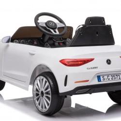 Ηλεκτροκίνητο Παιδικό Αυτοκίνητο Licensed Mercedes Benz CLS350 12v σε Λευκο χρώμα