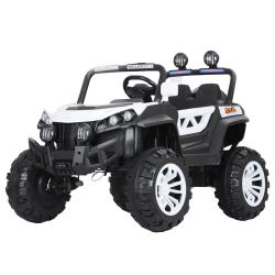 Ηλεκτροκίνητο παιδικό αυτοκίνητο τζίπ BUGGY σε λευκό 12V