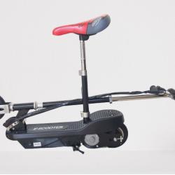 OEM Ηλεκτρικό παιδικό E-SCOOTER με κάθισμα 150W 6 ίντσες 24V σε μαύρο