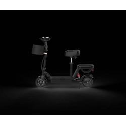 Ηλεκτρικό SCOOTER 250W 8.5 ίντσες με δυο καθίσματα σε μάυρο