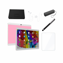 Deal Electronic LQ-M1063 Tablet 10.1 inch 3gb ram 32gb rom pink dualsim