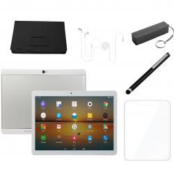 Deal Electronic LQ-M1063 Tablet 10.1 inch 3gb ram 32gb rom silver dualsim