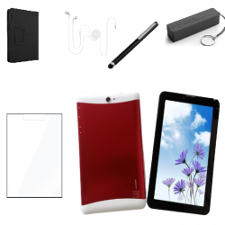 Deal Electronic SC7731 Tablet 7 inch 3gb ram 32gb rom red dualsim