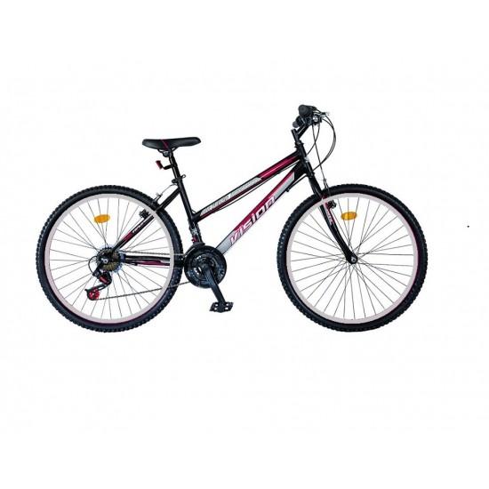 Ποδήλατο mountain VENUS 26'' ίντσες Μαυρο-Ροζ  με 21 ταχύτητες