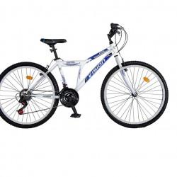 Ποδήλατο Mountain 26″ STEEL Steel White-Blue 21 Ταχυτητες