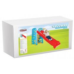 Pilsan παιδική Τσουλήθρα 02-614 με μπασκέτα Wavy Slide