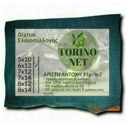 Ελαιόδιχτο - ελαιόπανο Torino Net 6x12m 95γρ m2