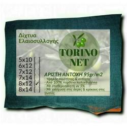 Ελαιόδιχτο - ελαιόπανο Torino Net 8X12 95γρ m2