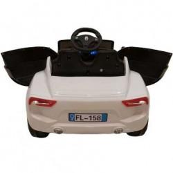 Ηλεκτροκίνητο παιδικό αυτοκίνητο τύπου MASERATI σε λευκό 12v